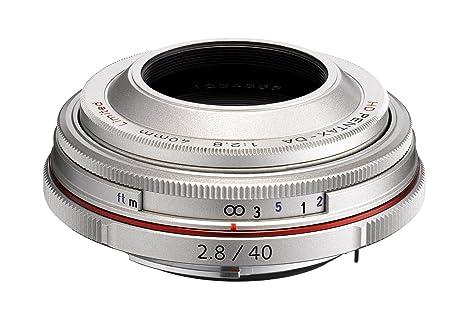 Pentax 21400 HD DA Objectif 40 mm f2.8AL Argent