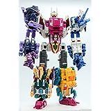 Power of the Primes Transformers Generations ABOMINUS Terrorcon Combiner Set [Hun-Gurrr, Blot, Sinnertwin, Cutthroat, Rippersnapper]