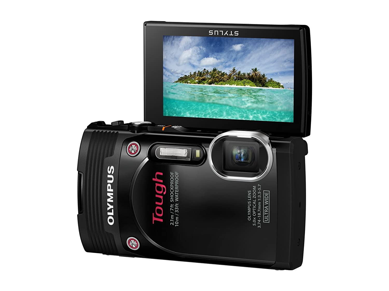 Digital Cameras OLYMPUS TG850 BLACK 16MPIXLES