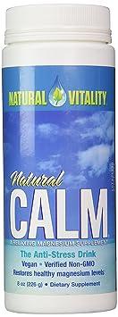 Natural Vitality Natural Magnesium Calm Original, 8 Ounce