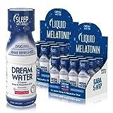 Dream Water Natural Sleep Aid, GABA, MELATONIN, 5-HTP, 2.5oz Shot, Nighttime Nectar 24 Count (Color: Night Time Nectar, Tamaño: 24 Pack)
