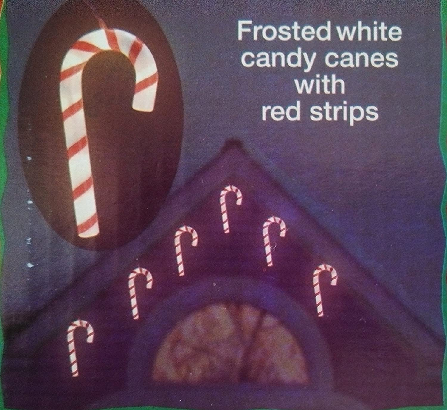 Peppermint christmas string lights christmas wikii christmas frosted candy cane string lights white w red stripes 7 candy canes per string each contains 5 xmas style bulbs 35 bulbs total candy canes mozeypictures Gallery