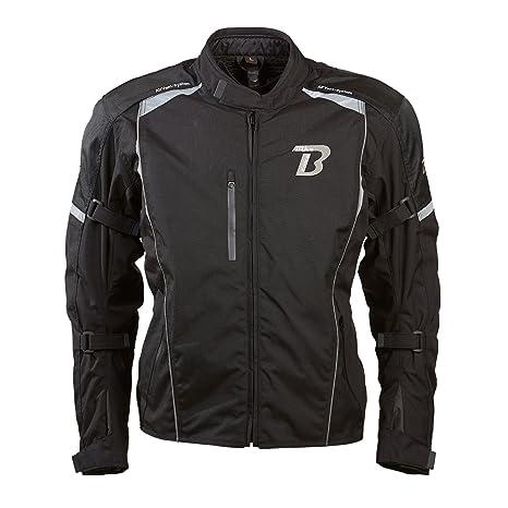 BIKEZONE s evolution 4010-54-veste de moto noir xL/taille :  xL