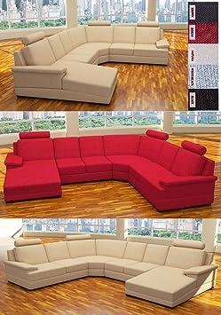 :::: MODELL ANGELINA: DESIGNER WOHNLANDSCHAFT STOFF SUNRISE (5 FARBEN, 2 AUSRICHTUNGEN) > KOSTENLOSER VERSAND in AT & DE ! > BERATUNG: Tel: 0043(1)715-16-16, (Mo. bis Fr. 9.30 bis 15 Uhr) oder E-Mail: office.at@vienna-international-furniture.com
