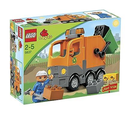 LEGO - 5637 - Jeu de construction - DUPLO LEGOville - Le camion poubelle