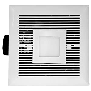 tatsumaki ld-120 bathroom fan - 120 cfm ultra quiet with led review
