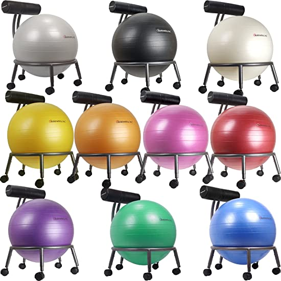 Isokentics Inc. Brand Fitness Ball Chair