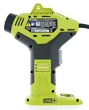 Ryobi P737 18-Volt ONE+ Portable Cordless Power Inflator for Tires (Battery Not Included, Power Tool Only) (Color: Basic pack)