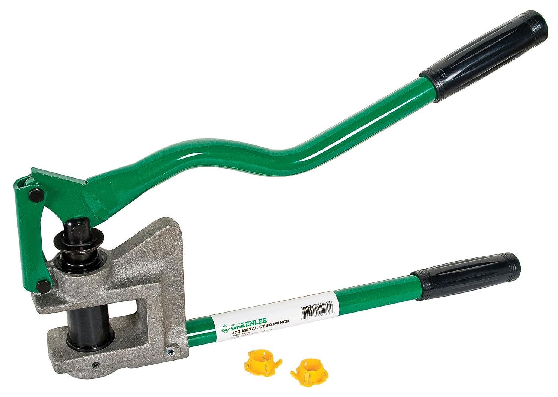 Greenlee 710 Metal Stud Punch 1 11 32 Diameter Madstencinlin Wiring Through Studs