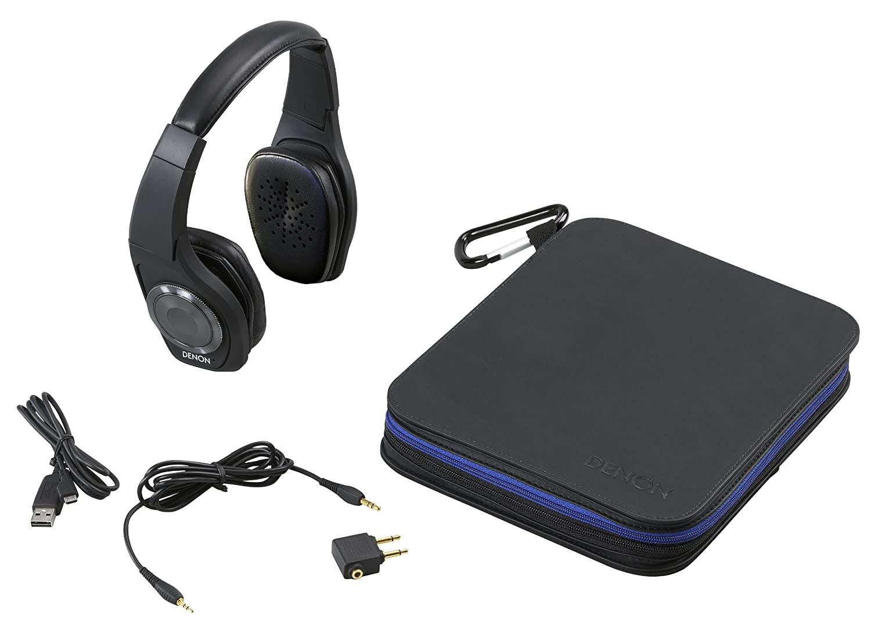 DENON 天龙AH-NCW500 顶级便携蓝牙无线降噪豪华耳机,黑色款现仅9.00 - 第1张  | 淘她喜欢