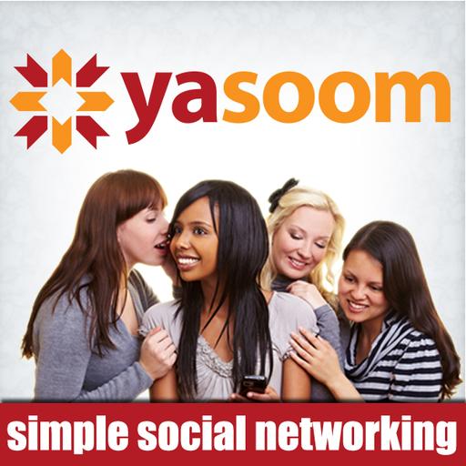 yasoom (Facebook, Twitter, foursquare)