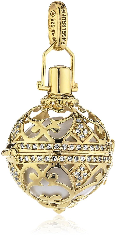Engelsrufer Damen-Anhänger 925 Silber teilvergoldet Zirkonia weiß – ER-01-ZI-LG schenken