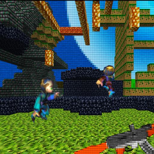 Pixelman Block World