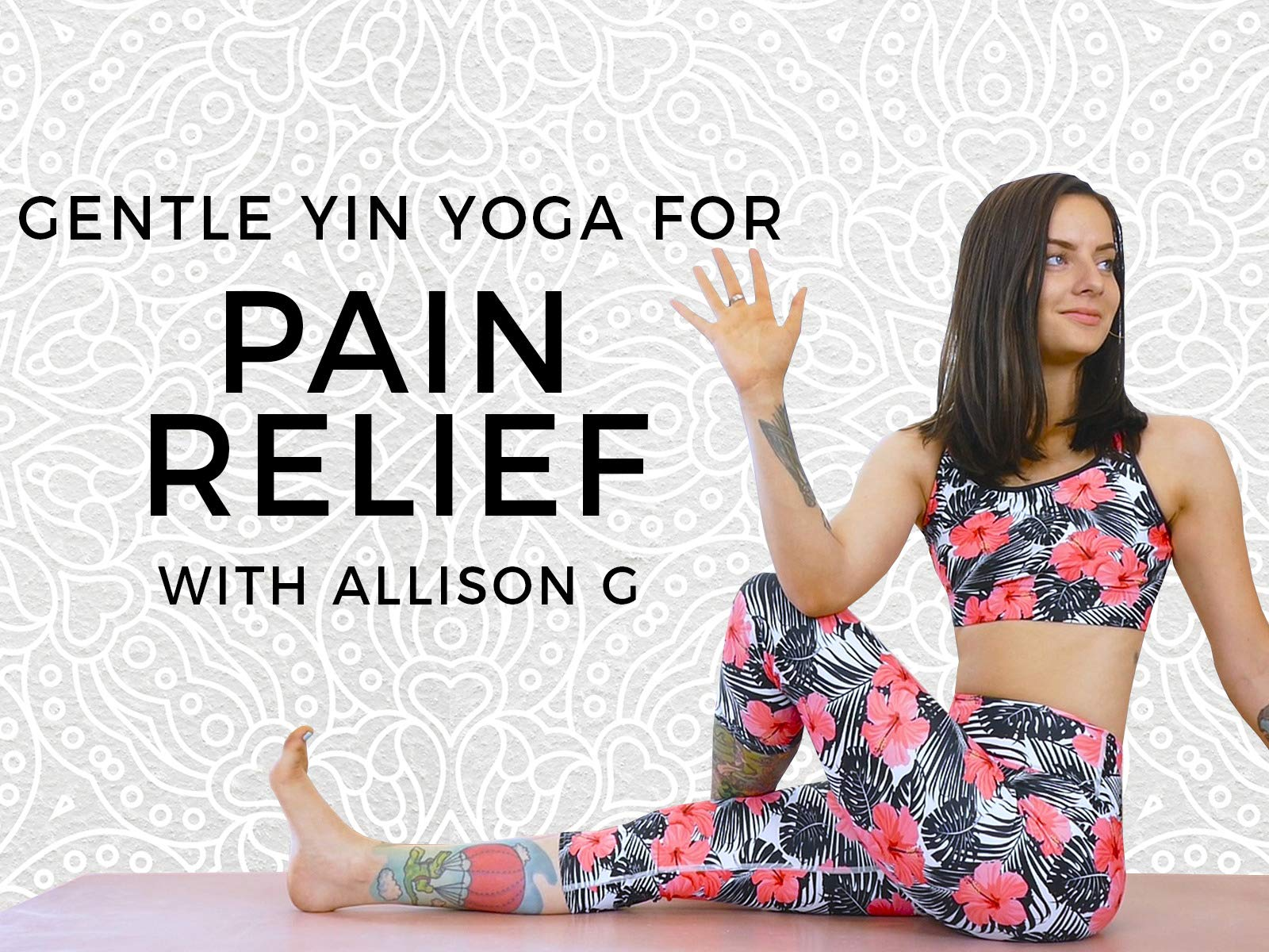 Gentle Yin Yoga For Pain Relief - Season 1