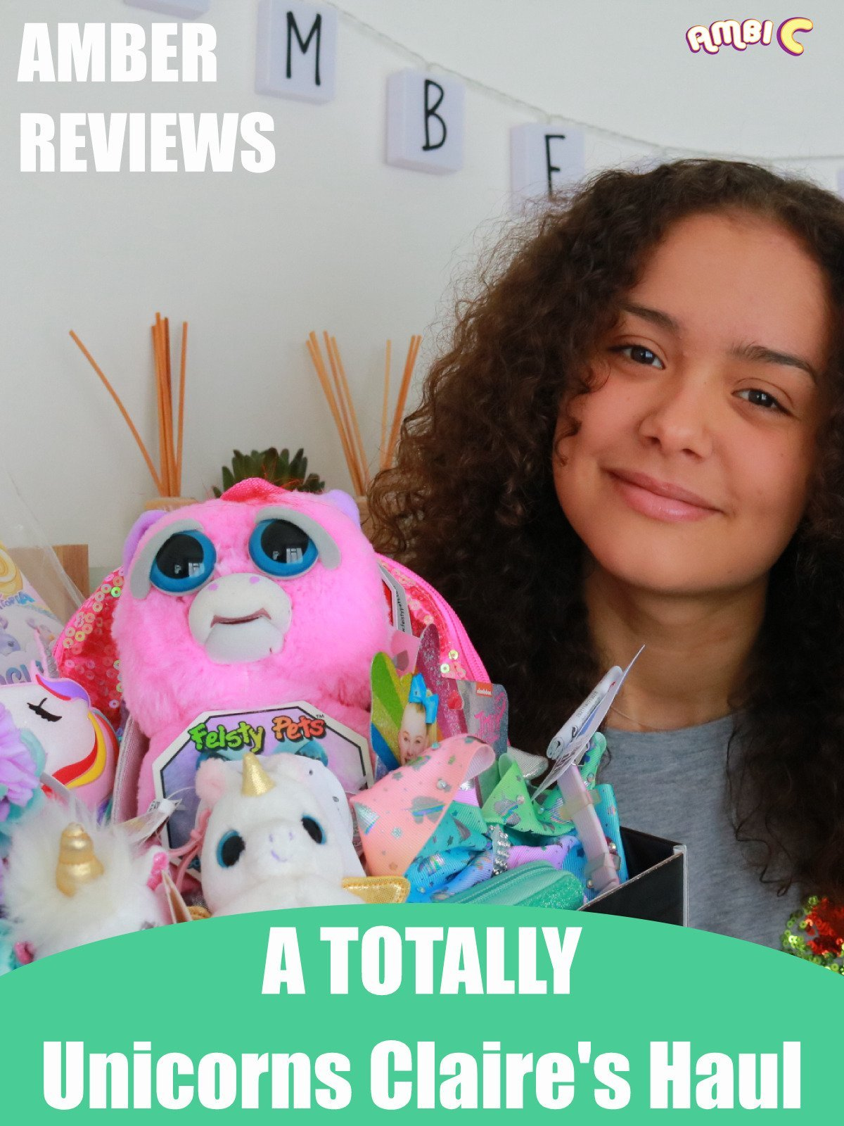 Amber Reviews a Totally Unicorn Claire's Haul