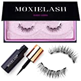 MoxieLash Classy Kit - Magnetic Liquid Eyeliner for Magnetic Eyelashes - No Glue & Mess Free - Fast & Easy Application - Set of Classy Lashes & Instruction Card Included (Classy Lash Kit) (Color: Classy Lash Kit)