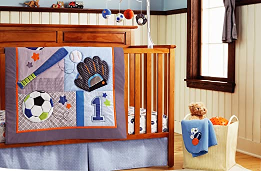 Boys Sports Bedding Boy Sport Crib Bedding Set