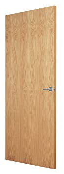 Premdor 25377 864 x 1981 x 44 mm Veneer FD30 Interior Fire Door- White Oak