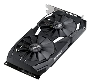 ASUS Radeon RX 580 4GB GDDR5 Dual-Fan OC Edition DP HDMI DVI VR Ready AMD (DUAL-RX580-O4G) Graphics Card and PCI-E Riser for ETH Etheruem ZEC Zcash XMR Monero Cryptocurrency Mining