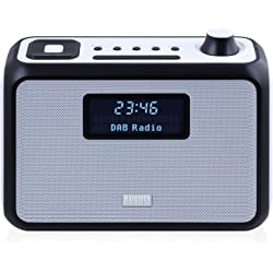 August MB400 DAB/DAB+ Clock Radio with Alarm Clock and FM Tuner