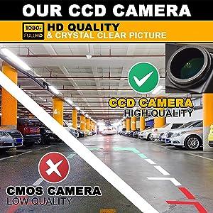 Rear Reversing Backup Camera Rearview License Plate Camera Night Vision Ip68 Waterproof for Mitsubishi Montero Sport/Mitsubishi Pajero/Grandis/Colt Plus/Challenger 2008-2015