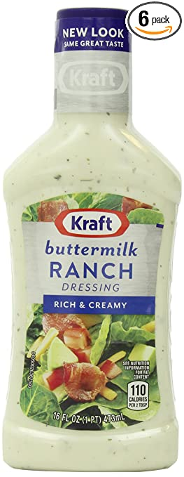 buttermilk ranch salad homemade ranch dressing recipe ken s buttermilk ...
