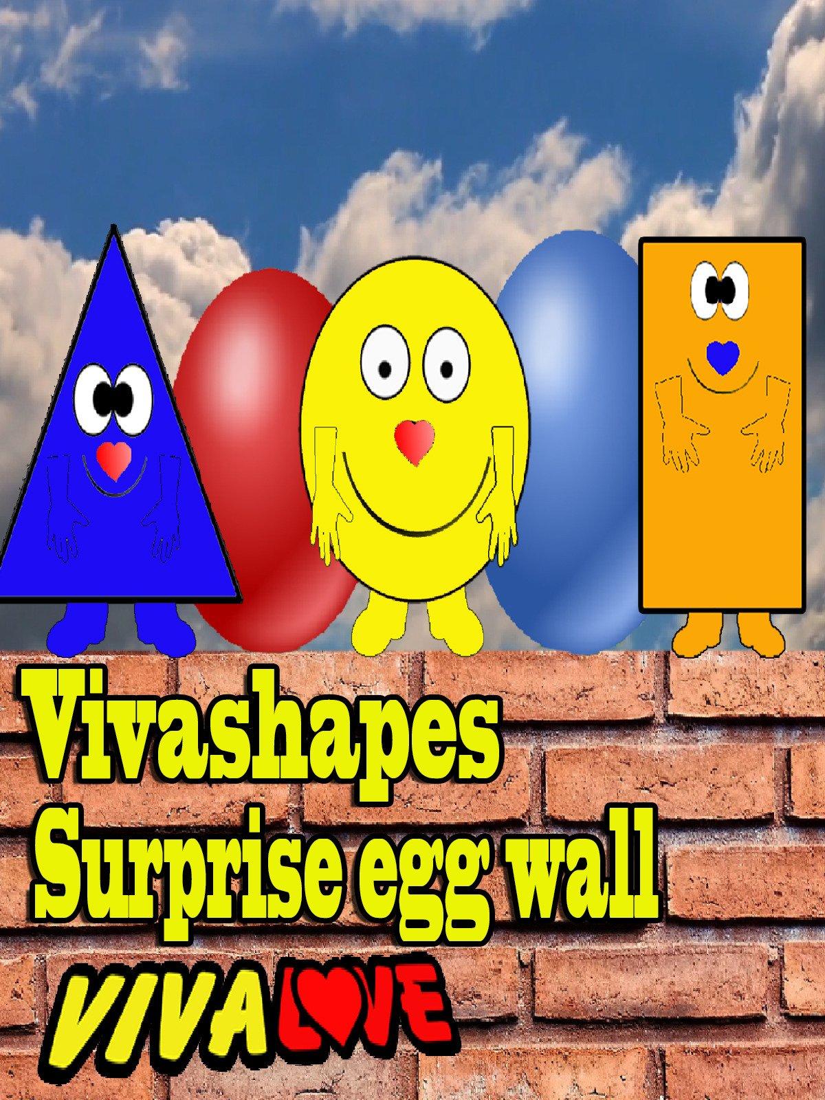 Vivashapes surprise egg wall.