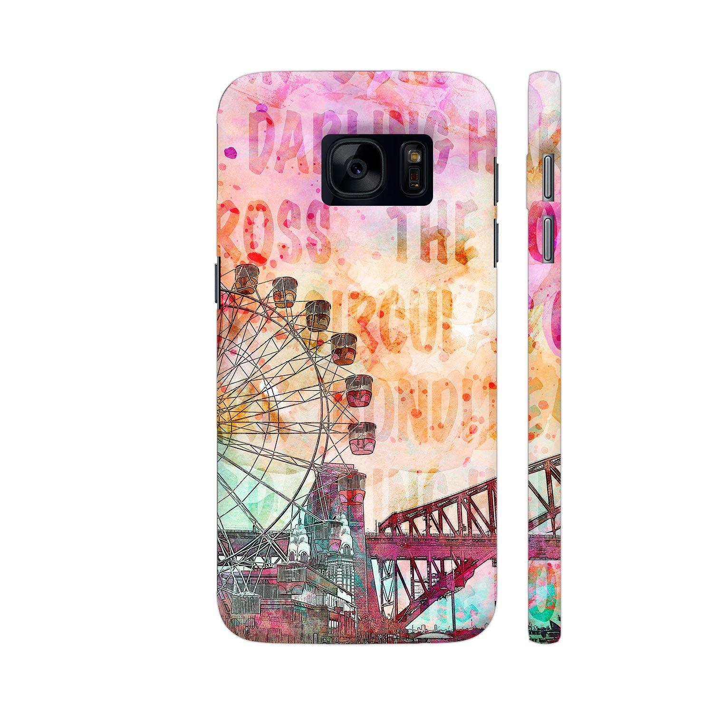 Colorpur Sydney Australia Luna Park Designer Mobile Phone Case Back Cover For Samsung Galaxy S7 | Artist: LebensART