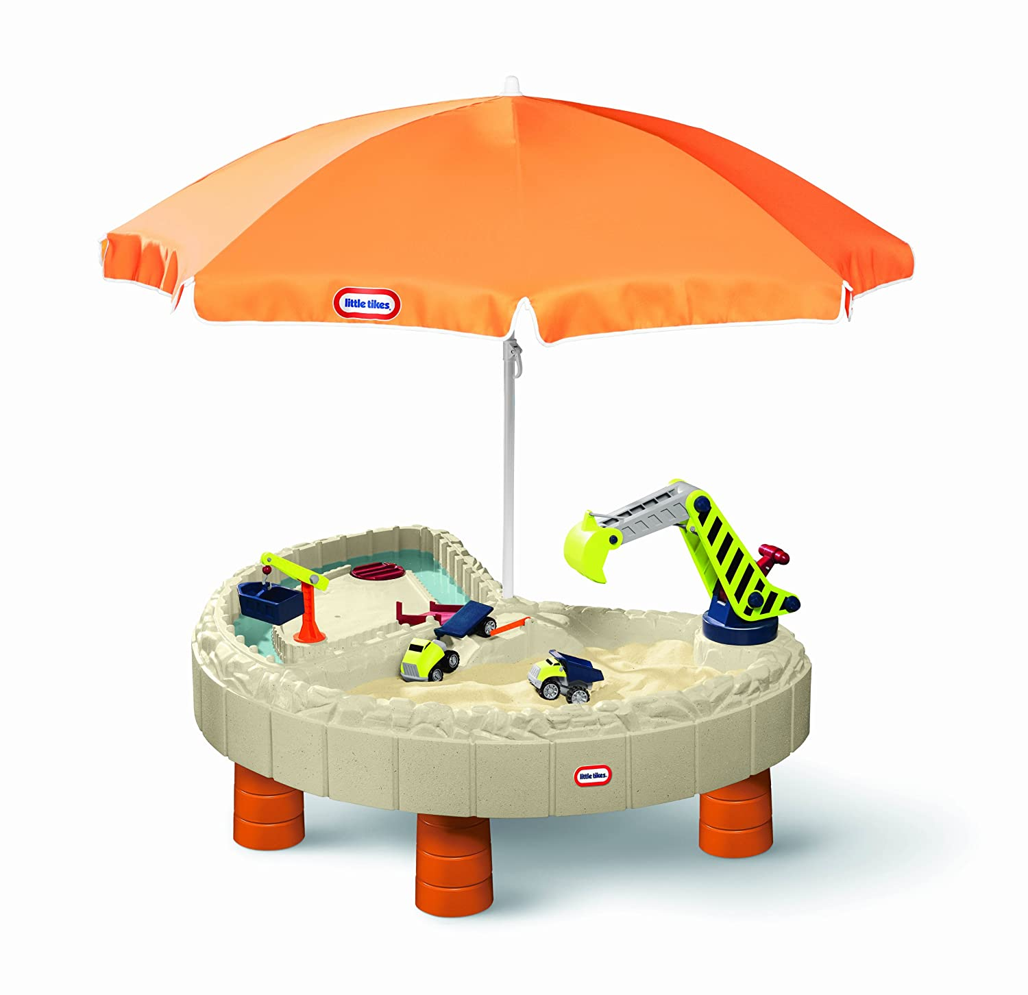 An Image of Little Tikes Builder's Bay Sand & Water Table
