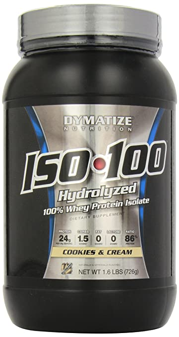 Dymatize ISO 100 Hydrolyzed - 1.6 lb Cookies and Cream