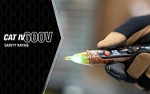 Southwire Tools & Equipment 40126N NCV Dual Range 24-600V AC