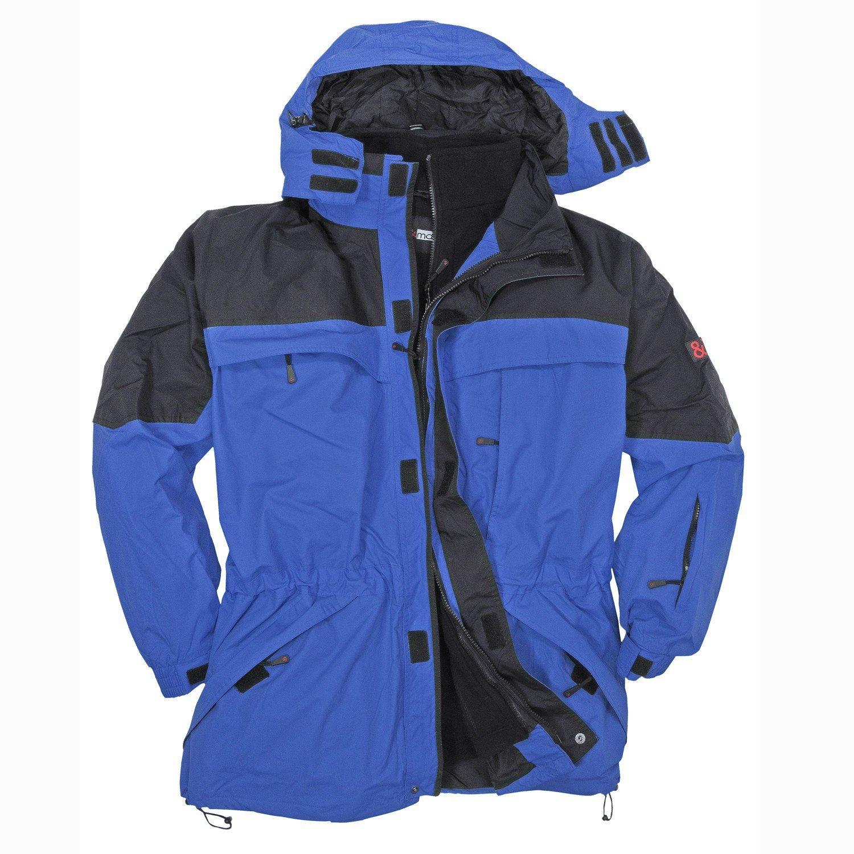 Blaue 3in1 Jacke von marc&mark in Übergroesse bis 10XL kaufen