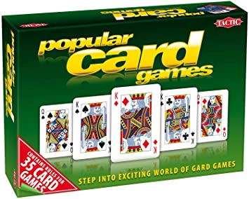 35 Popular card games - Jeux de Cartes (Import Grande Bretagne)