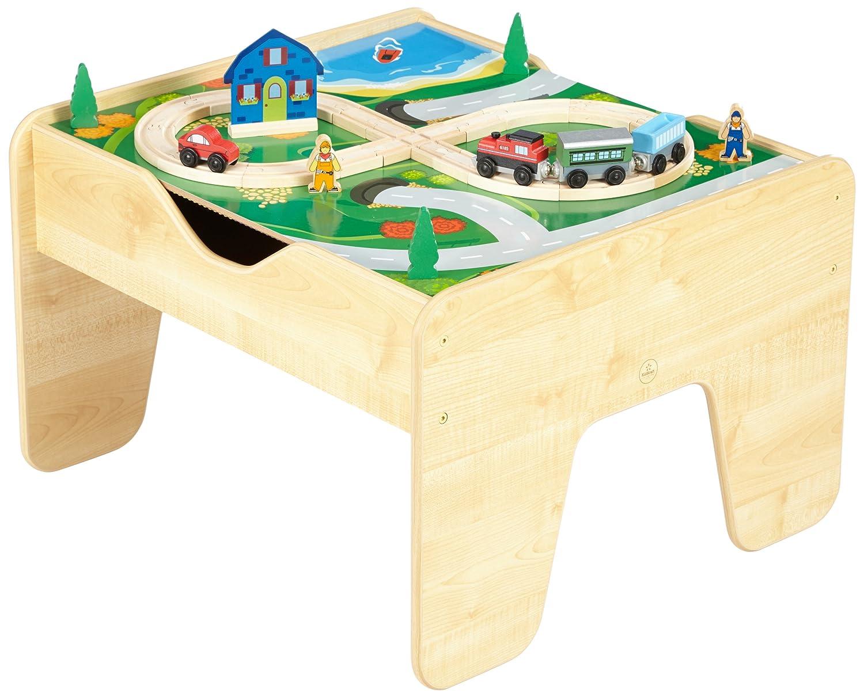 kidkraft 200 natural lego compatible blocks 30 pc train. Black Bedroom Furniture Sets. Home Design Ideas
