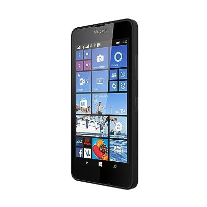 Microsoft Lumia 640 Smartphone débloqué 4G (Ecran : 5 pouces - 8 Go - Double SIM - Windows Phone 8.1) Noir