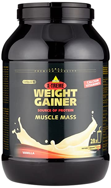 Inko X-Treme Weight Gainer Vanille, 1er Pack (1 x 2.8 kg)