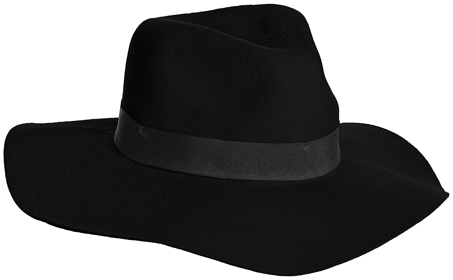 Amazon.co.jp: (エモダ)EMODA TAPE FELT HAT 041510940501 09 BLK F: Amazonファッション通販