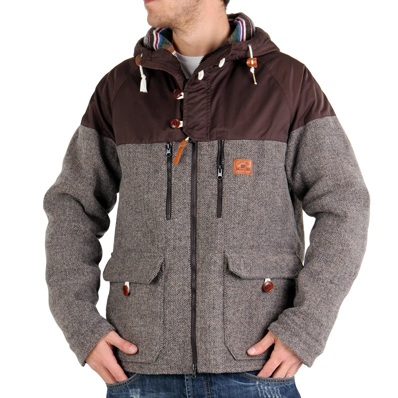 MUSEUM Herren Winter Funktionsjacke Mountain Shirt Brown MU21568
