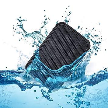 Ivation Water Resistant Shockproof Bluetooth 4 0 Speaker