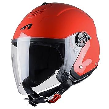 Astone Helmets MINIMS-REDXXL Casque Jet Mini Jet S Red Taille XXL