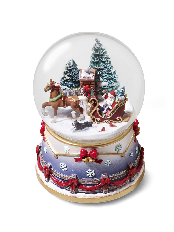 Christmas Town Around the World: Snow Globes