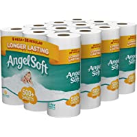 Angel Soft Bath Tissue 36 Mega Rolls Toilet Paper