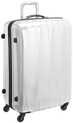 【クリックでお店のこの商品のページへ】[アメリカンツーリスター] AMERICAN TOURISTER Arona Lite / アローナライト スピナー75 (75cm/87L/4.4Kg) (スーツケース・キャリーバッグ・Lサイズ・TSAロック・大容量・軽量・ファスナー・保証付き) 70R*15006 15 (ホワイト): シューズ&バッグ:通販