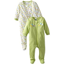Unisex Animals Green Two-Pack