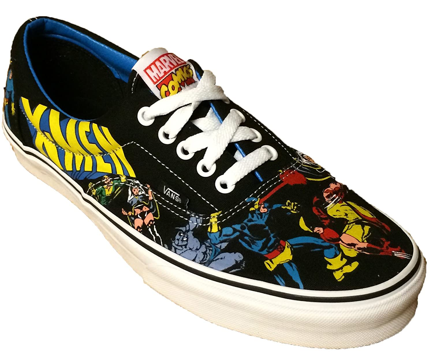 Vans X-Men- Marvel Vintage Comicbook Era Skate Lace up ...