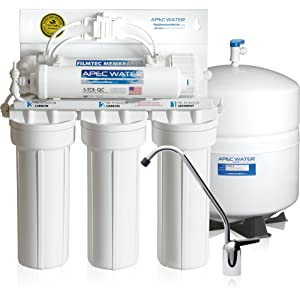 APEC Water - Built in USA - Premium Quality 90 GPD Reverse Osmosis System (RO-90)