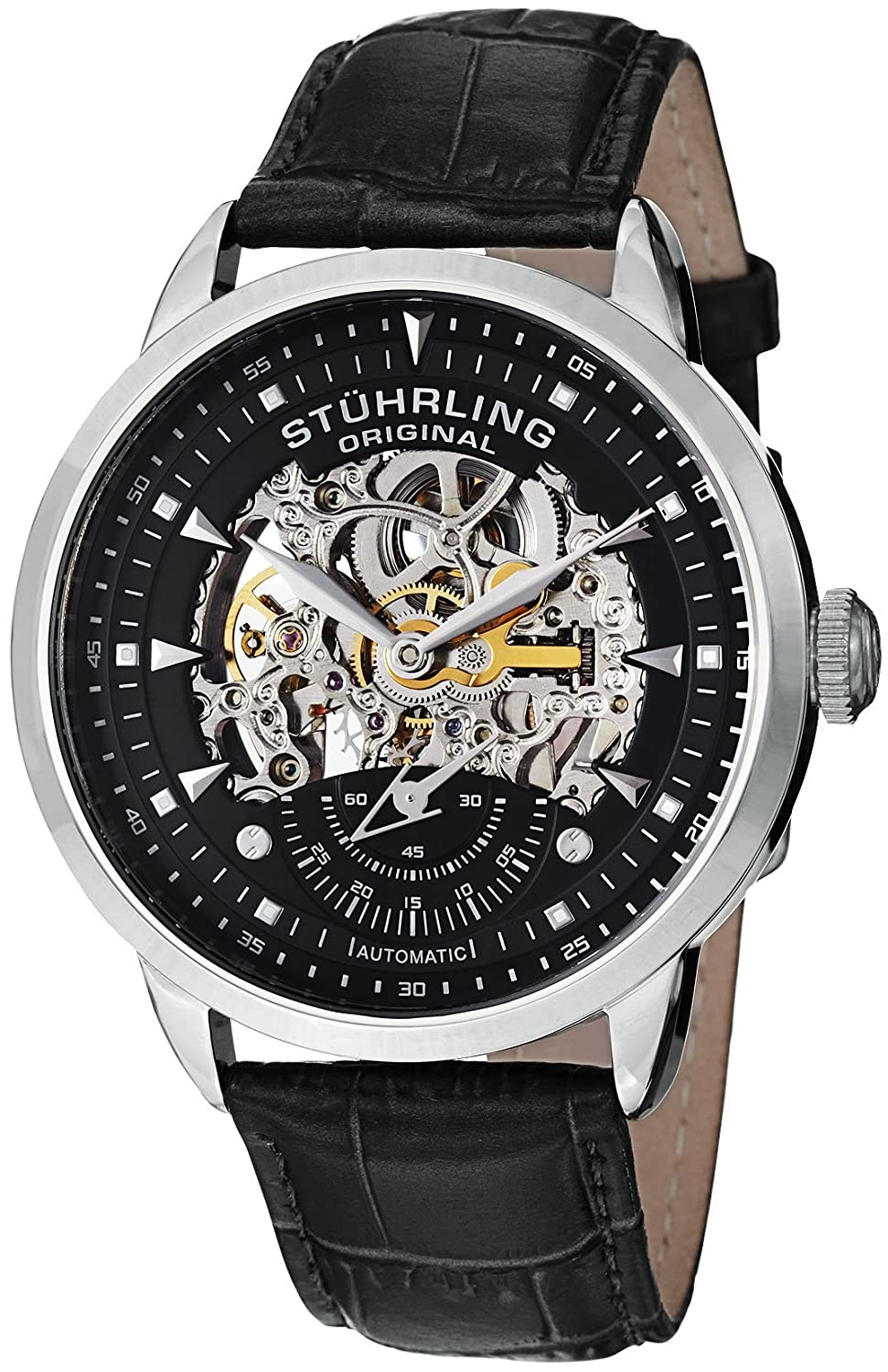 Stuhrling Original Men&#8217;s 133.33151 Symphony Aristocrat Executive Automatic Skeleton Watch