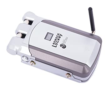 Remock Lockey con 4 telecomandi - Invisibile Serratura di Sicurezza, la soluzione al furto
