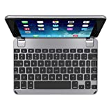 Brydge BRY5102  7.9 Bluetooth Backlit Aluminum Keyboard for iPad mini 4 - Space Grey