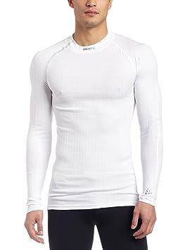 Canterbury Homme froid col roulé Formation Sportive Sous-vêtement De Compression Top Blanc